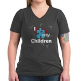 I Love My Children - Autism T-Shirt