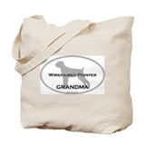 Wirehaired Pointer GRANDMA Tote Bag