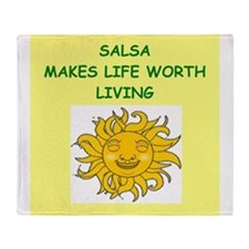 SALSA Throw Blanket