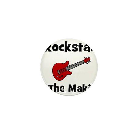 Rockstar In The Making Mini Button