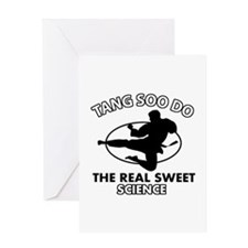 Tang Soo Do the real sweet science Greeting Card