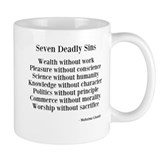 Deadly Sins Coffee Mug
