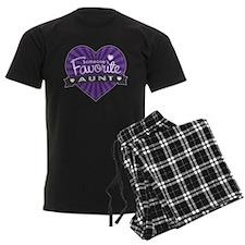 Favorite Aunt Purple Pajamas