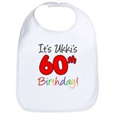 Ukkis 60th Birthday Bib