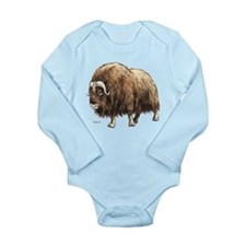 Musk Ox Long Sleeve Infant Bodysuit