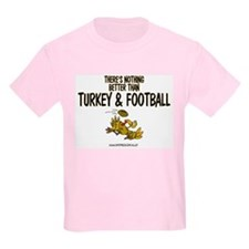 TURKEY & FOOTBALL Kids T-Shirt