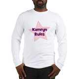 Kamryn Rules Long Sleeve T-Shirt
