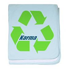 Karma Symbol baby blanket