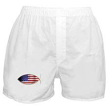 Ichthus - American Flag Boxer Shorts