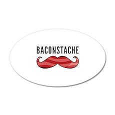 Baconstache 22x14 Oval Wall Peel
