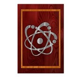 Chromium Atom Postcards (Package of 8)