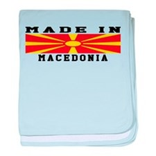 Macedonia Made In baby blanket