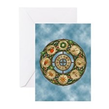 Celtic Wheel of the Year Greeting Cards (Pk of 20)