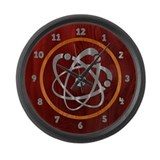 atom-steelwood-smT Large Wall Clock