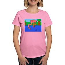 Flamingo Women's Dark T-Shirt