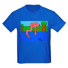 Flamingo Kids Dark T-Shirt