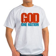 One Nation Under God shirt Light T-Shirt