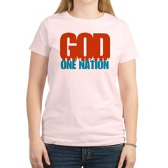 One Nation Under God shirt Women's Light T-Shirt