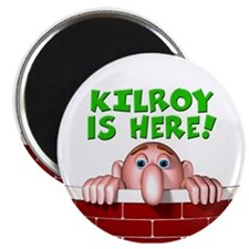 "Kilroy IS Here 2.25"" Magnet (10 pack)"