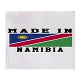 Namibia Made In Throw Blanket