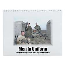 Men In Uniform Wall Calendar