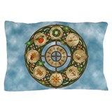 Celtic Wheel of the Year Pillow Case