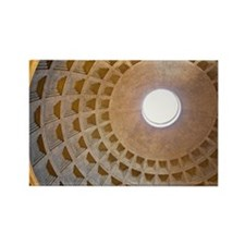 Domed ceiling of Pantheon, Rome,  Rectangle Magnet