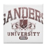 Sanders Last Name University Class of 2013 Tile Co