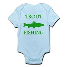 Green Trout Fishing Body Suit