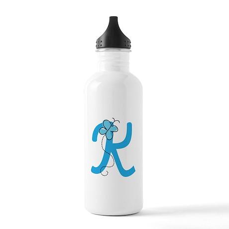 Letter K Monogram Stainless Water Bottle 1.0L
