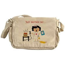 Cute Nurse manager Messenger Bag