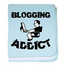Blogging Addict baby blanket