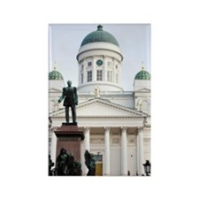 Helsinki Lutheran Cathedral Rectangle Magnet