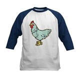 Polka Dot Rooster Baseball Jersey