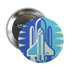 "Space Shuttle 2.25"" Button (100 pack)"