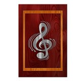 Clef Woodsteel Postcards (Package of 8)
