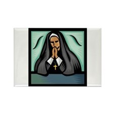 It's a Nun! Rectangle Magnet (100 pack)