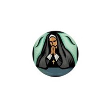 It's a Nun! Mini Button (10 pack)