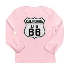 Long Sleeve California US 66 Infant T-Shirt