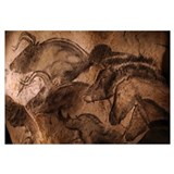 Stone-age cave paintings, Chauvet, France