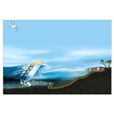 Wave energy converter, artwork