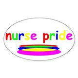 Nurse Pride Rectangle Decal