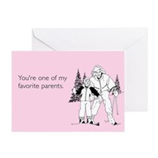 Favorite Parent Greeting Card