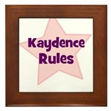 Kaydence Rules Framed Tile