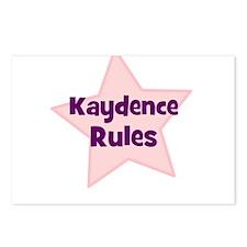 Kaydence Rules Postcards (Package of 8)