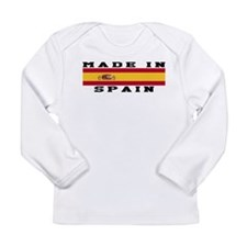 Spain Made In Long Sleeve Infant T-Shirt