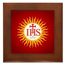 Jesuit Framed Tile