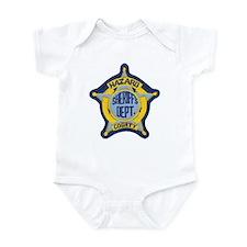 Hazard County Sheriff Infant Bodysuit