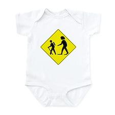 Beware of Sasquatch Infant Bodysuit