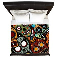 Day of the Dead King Duvet